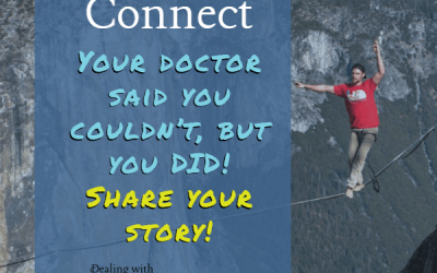 Stories to Connect: Your Diabetes Doctor Said You Shouldn't, but you DID!