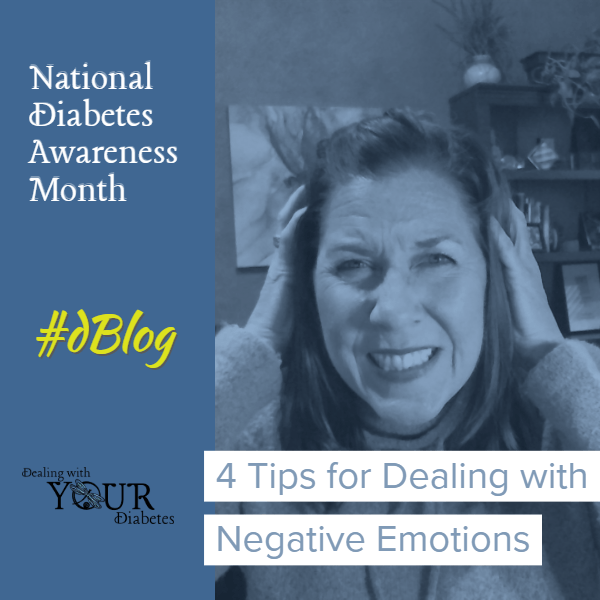National Diabetes Month – Those Negative Emotions!