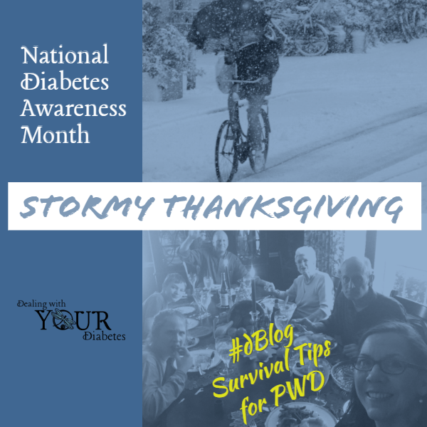 National Diabetes Month: Stormy Thanksgiving Diabetes Tips