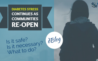 Diabetes Stress Continues as Communities Re-open